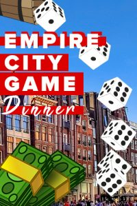 Empire City Tablet Dinner Game in Alkmaar