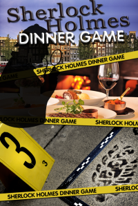Sherlock Holmes Tablet Dinner Game in Alkmaar