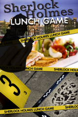 Sherlock Holmes Tablet Lunch Game in Alkmaar