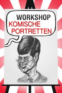 Workshop Komische Portretten tekenen in Alkmaar